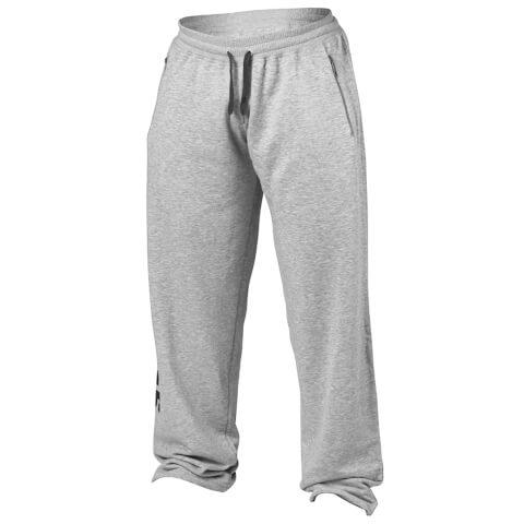 Better Bodies Big Print Sweatpants - Grey Melange