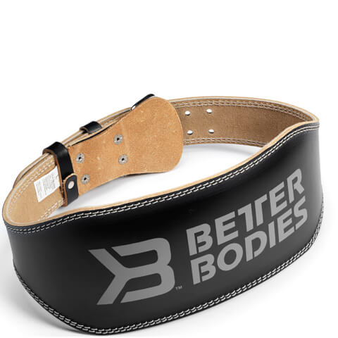 Better Bodies 6 Inch Lifting Belt - Black
