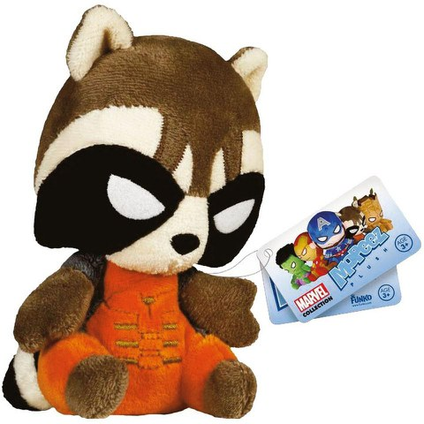 Mopeez Marvel Guardians of the Galaxy Rocket Raccoon Plush Figure