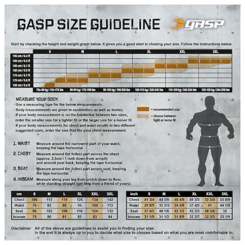GASP Thermal Shorts - Grey Melange