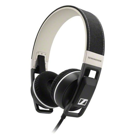 Sennheiser Urbanite On Ear Headphones Inc In-Line Remote & Mic - Black