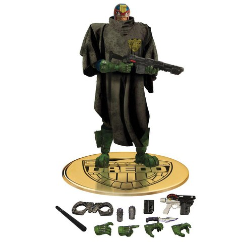 Mezco Judge Dredd The Cursed Earth Previews Exclusive Figure