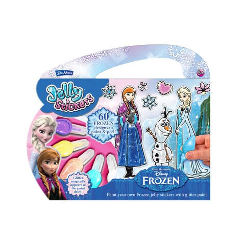 John Adams Disney Frozen Jelly Stickers