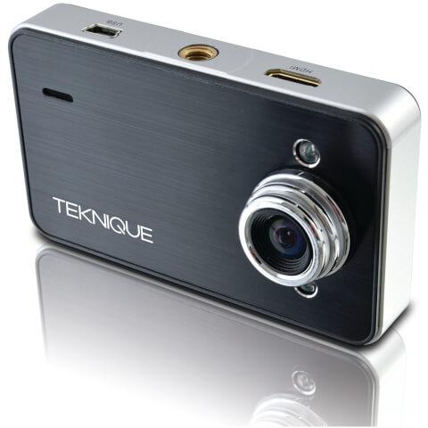 Teknique Full HD Car Cam 2.0 - Black