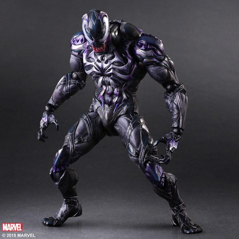 Square Enix Marvel Comics Venom Variant Play Arts Kai Figure