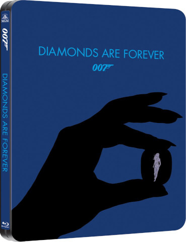 Diamonds Are Forever  - Zavvi Exclusive Limited Edition Steelbook (UK EDITION)