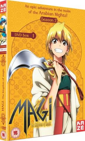 Magi The Kingdom of Magic - Season 2 Part 1