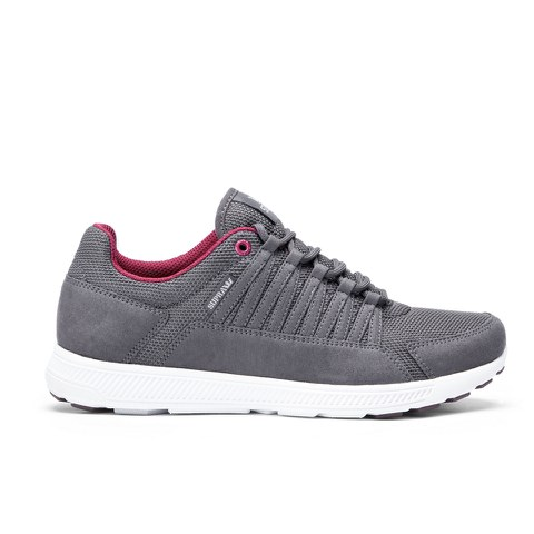 Supra Men's Owen Low Top Trainers - Magnet/Port
