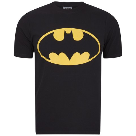 DC Comics Batman Men's Logo T-Shirt - Black