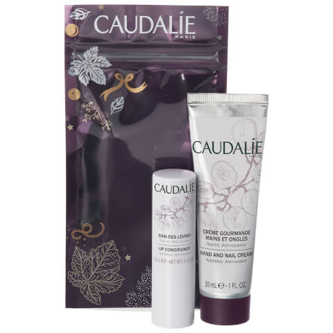Caudalie Duo - Lip Conditioner and Hand Cream 30ml (Worth $18.00)