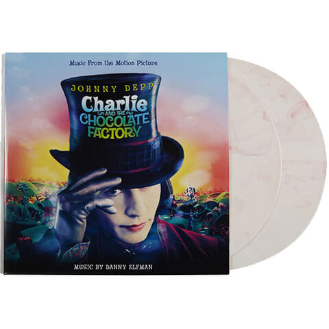 Charlie And The Chocolate Factory Zavvi Exclusive Vinyl Soundtrack (2LP) 500 Only