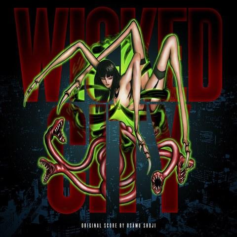 Wicked City - Original Soundtrack OST - Black Vinyl LP