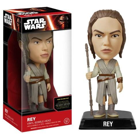 Figurine à Tête Branlante Rey- Star Wars Episode VII Wacky Wobbler