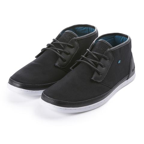 Boxfresh Men's Milford Garment Dye/Suede Chukka Boots - Black