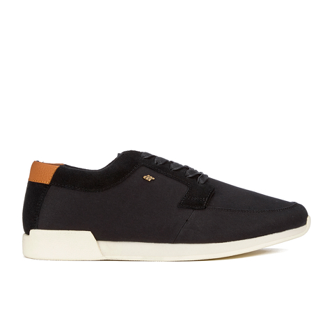 Boxfresh Men's Cowl Garment Dye/Suede Low Top Trainers - Black