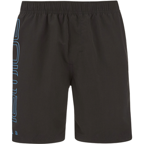 Animal Men's Belos Elasticated Waist Swim Shorts - Black