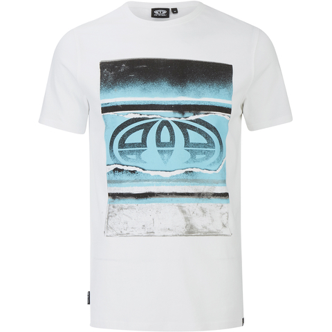 Animal Men's Loffy Graphic Print T-Shirt - White