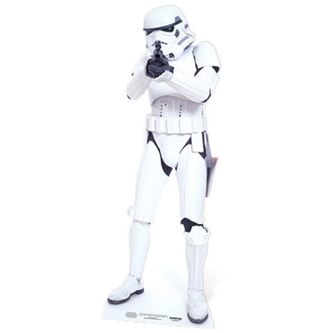 Star Wars Stormtrooper Cut Out