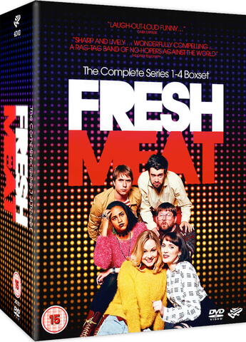 Fresh Meat - Series 1-4