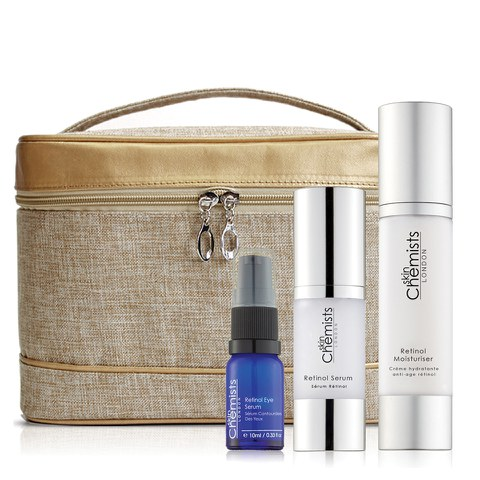 skinChemists Retinol Skin Renewal Set (Worth $208.10)