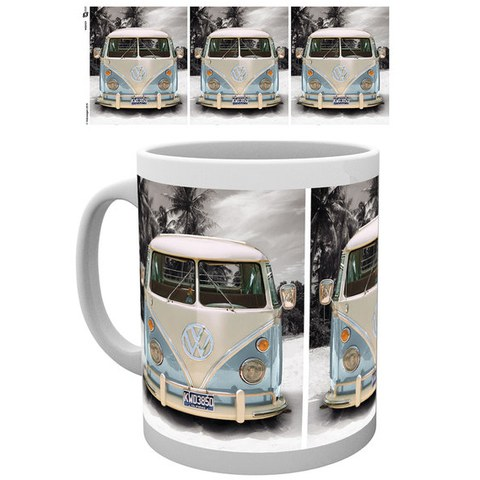 VW Camper Beach - Mug