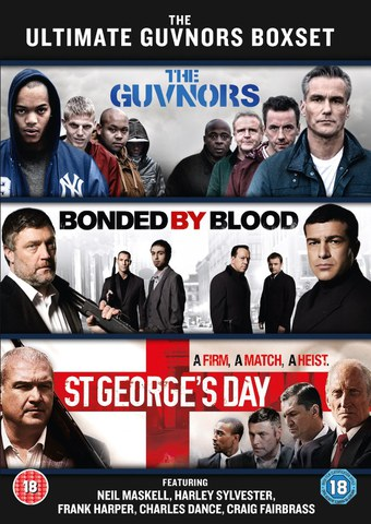 The Ultimate Guvnors Boxset: The Guvnors, Hyena, St George's Day