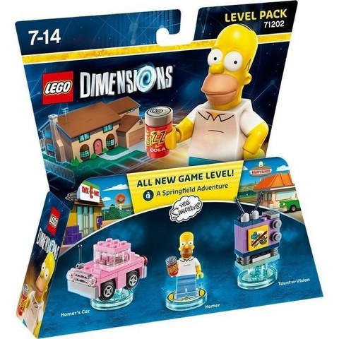 LEGO Dimensions, The Simpsons, Level Pack