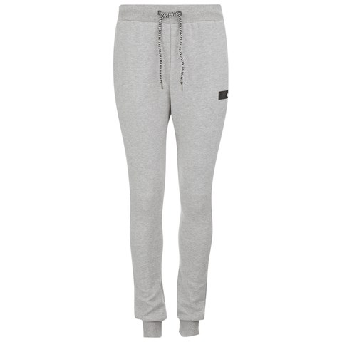 Gio Goi Men's Trebble Fleece Sweatpants - Grey Marl