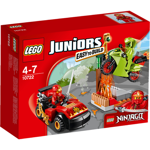 LEGO Juniors: Ninjago Snake Showdown (10722)