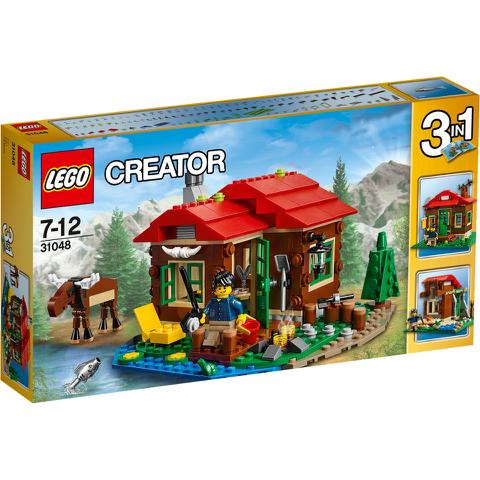 LEGO Creator: Huisje aan het meer (31048)