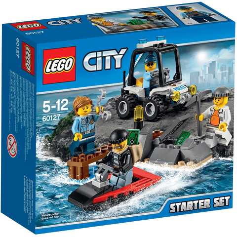 LEGO City: Gefängnisinsel-Polizei Starter-Set (60127)