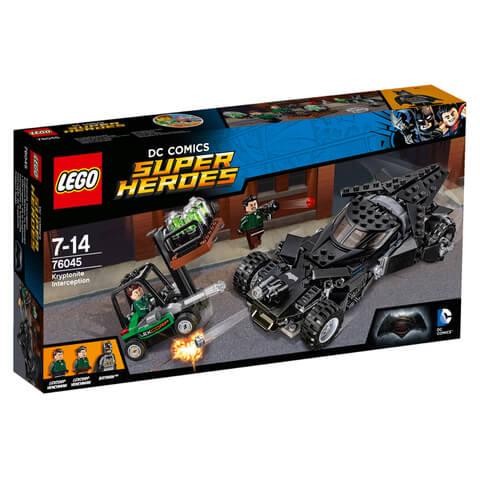 LEGO DC Comics Super Heroes: Kryptoniet onderschepping (76045)