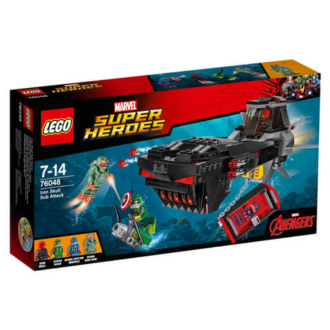 LEGO Marvel Super Heroes: Iron Skull Sub Attack (76048)