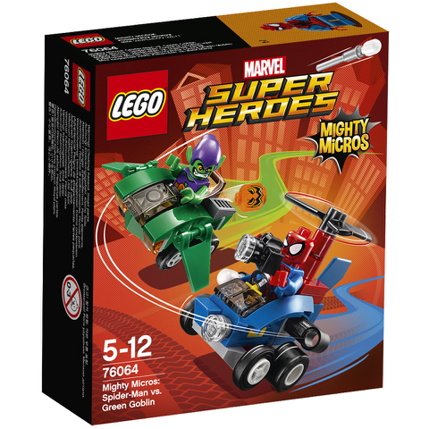 LEGO DC vs. Marvel: Mighty Micros: Spider-Man vs. Green Goblin (76064)