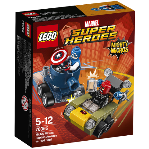 LEGO DC Vs. Marvel Mighty Micros: Captain America Vs. Red Skull (76065)