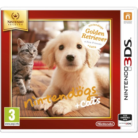 Nintendo Selects Nintendogs + Cats - Golden Retriever