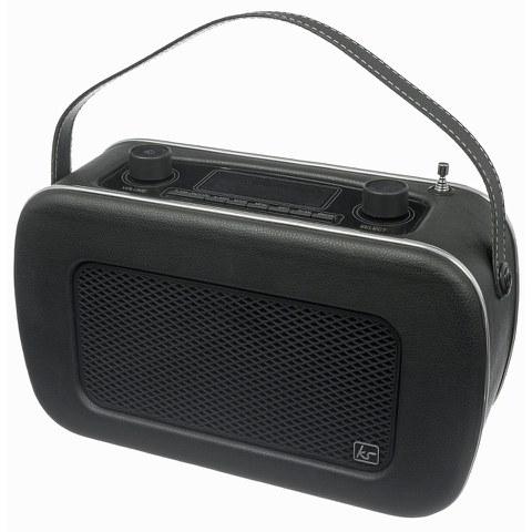 Radio Réveil DAB Kitsound Jive Retro -Noir