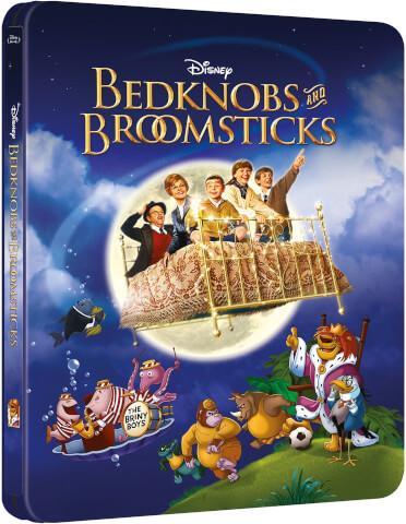 Die tollkühne Hexe in ihrem fliegenden Bett - Zavvi exklusives (UK Edition) Steelbook Edition