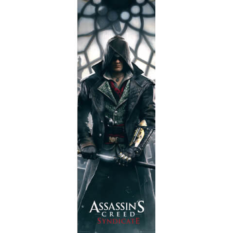 Assassins Creed Syndicate Big Ben - 21 x 59 Inches Door Poster