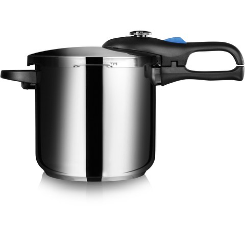 Tower T90102 7.5L/22cm Pressure Cooker - Silver