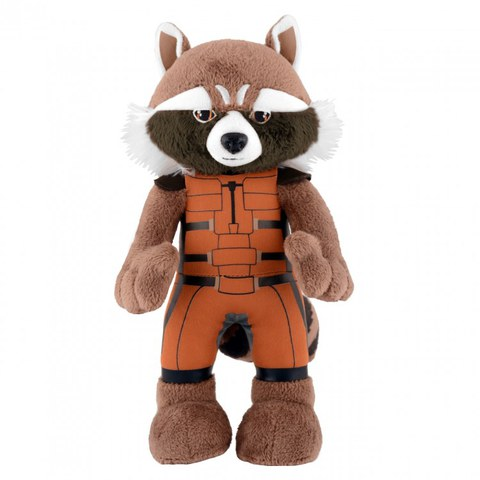 Marvel Guardians Of The Galaxy Rocket Raccoon 10 Inch Bleacher Creature