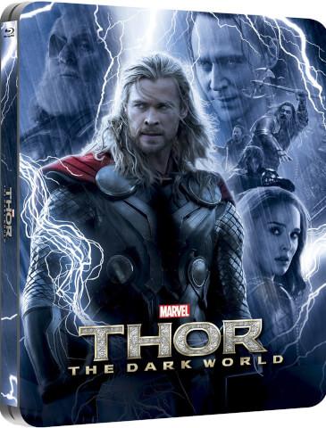 Thor: Dark World 3D (enthält 2D Version) - Zavvi exklusive (UK Edition) Lentikular Edition Steelbook