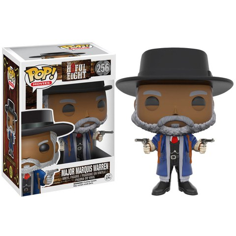 The Hateful Eight POP! Movies Vinyl Figura Marquis Warren