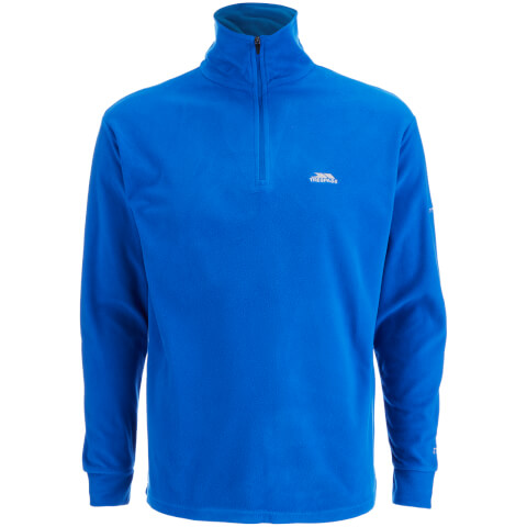 Trespass Men's Masonville Half Zip Fleece Jumper - Electric Blue