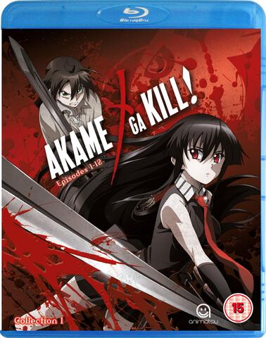 Akame Ga Kill Collection 1 - Episodes 1-12