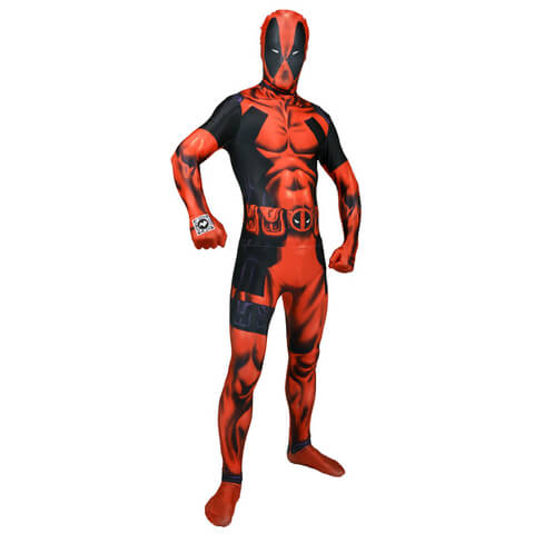 Morphsuit Adults' Deluxe Zapper Marvel Deadpool