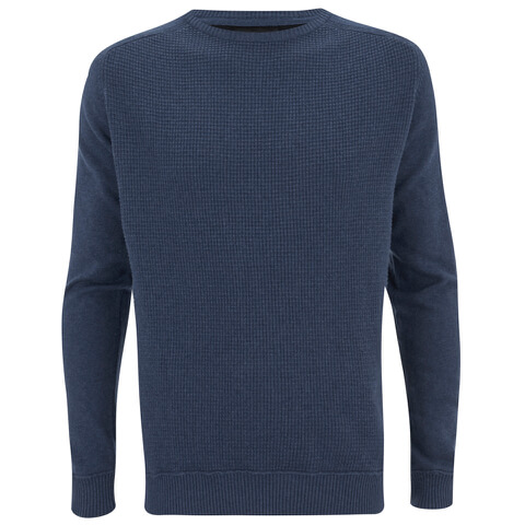 Threadbare Men's France Crew Neck Jumper - Denim Blue
