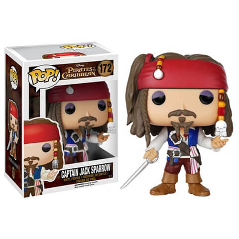 Figura Pop! Vinyl Disney Piratas del Carible - Jack Sparrow