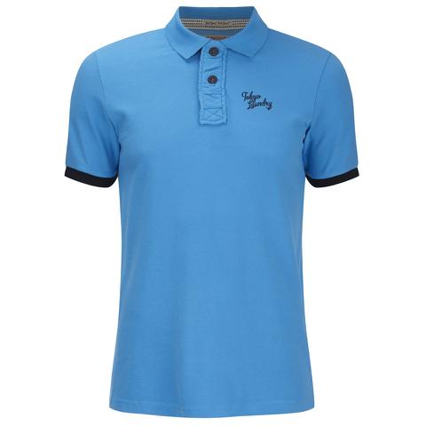 Tokyo Laundry Men's Port Orange Polo Shirt - Swedish Blue