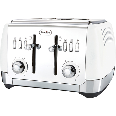 Breville VTT762 Strata Collection Toaster - White